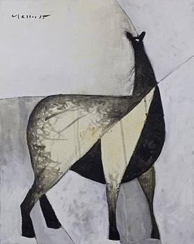 Mark M  Mellon - ANIMALIA Standing Llama