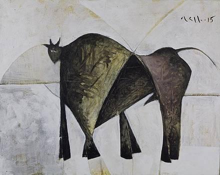 Mark M  Mellon - ANIMALIA Walking Bull