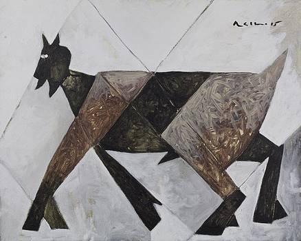 Mark M  Mellon - ANIMALIA Walking Goat