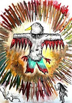 Angela Pari  Dominic Chumroo - Anishinaabe Symbolism