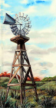 Annette s Windmill by Pamela Shearer