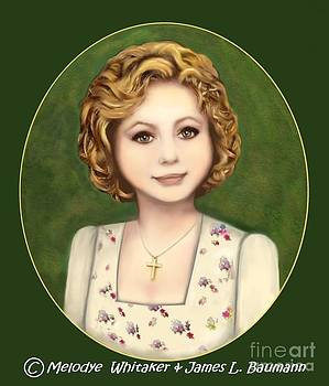 Annie Russo portrait by Melodye Whitaker