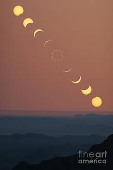Babak Tafreshi - Annular Solar Eclipse Phases
