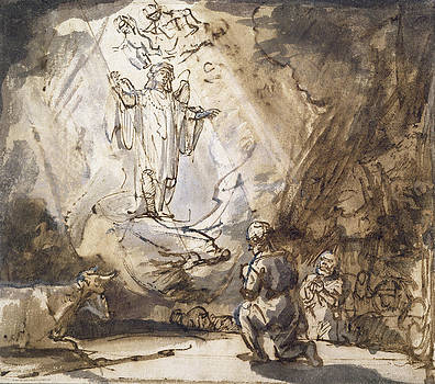 Rembrandt - Annunciation To The Shepherds