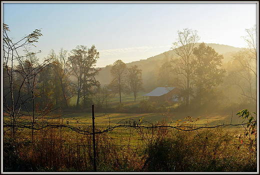 Another Fine Country Morning  by Kathy Barney