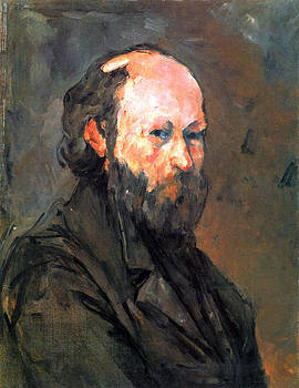 Another Self Portrait by Cezanne by John Peter