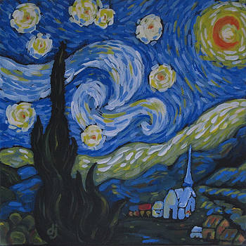 Another Starry Night by Dorothy Jenson