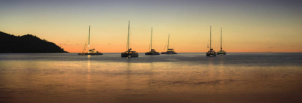 Anse Lazio Catamaran Meeting by Jens Tischer