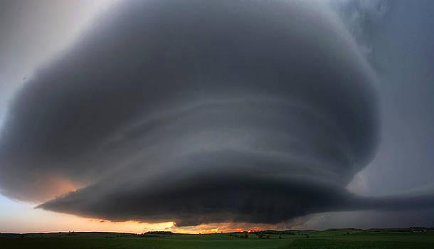 Ansley Nebraska Panoramic by Chris  Allington