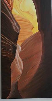 Antelope canyon 2 by Paul Santander