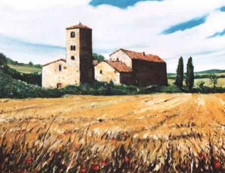 Antica Pieve by Sandro  Mulinacci