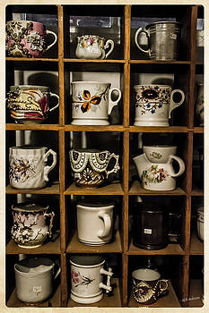 Mick Anderson - Antique Cups on Display
