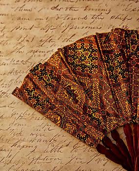 Antique Fan by Nancie Rowan
