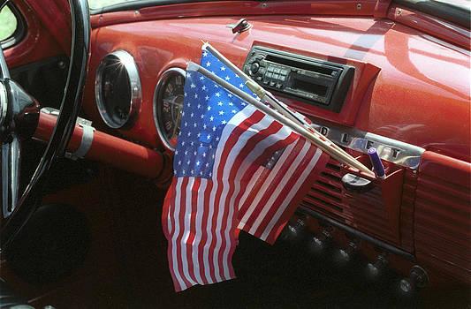 Harold E McCray - Antique Fire Truck Dashboard