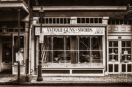 Kathleen K Parker - Antique Guns and Swords - French Quarter