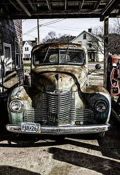 Antique International Pickup truck by Dick Wood