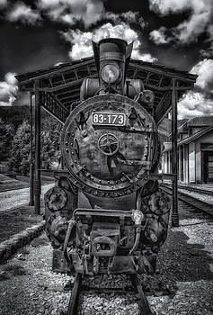 Antique Steam Locomotive by Dobromir Dobrinov