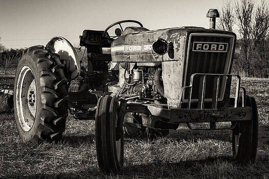 Antique Tractor by John Zocco