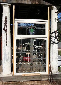 Antique Window by Rebecca Smith
