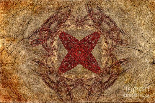 Randy Steele - Apophysis Fractal Red Star