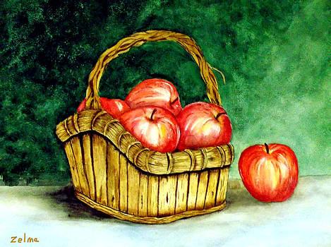 Apple Basket by Zelma Hensel