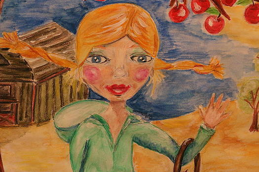 Apple Girl by Shakti Chionis