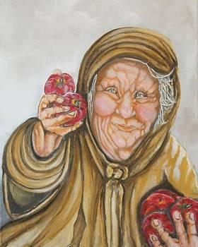 Apple Lady by Anne Buffington
