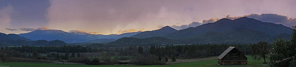 Mick Anderson - Applegate Valley SE Winter Evening