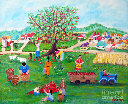 Applepicking by Barbara Sala