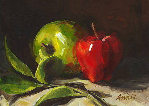 Apples by Annie Salness