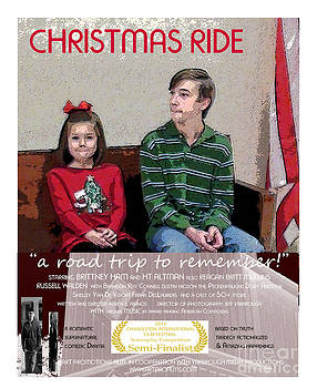 April and Josh in Christmas Ride by Karen Francis