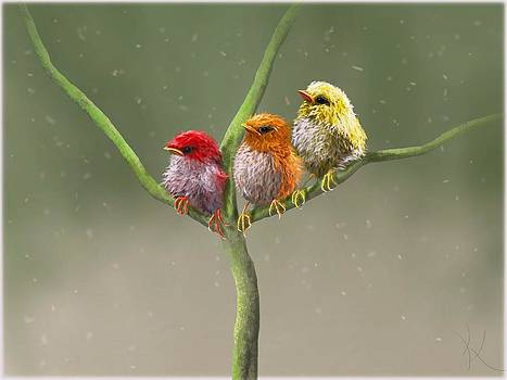 April Showers... by Kristina Becker
