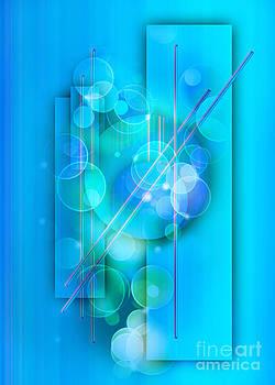 Aqua Blue by Claudia Burlager