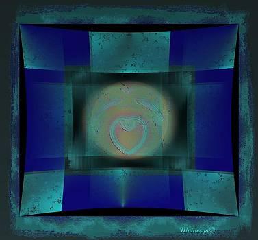 Aqua Heart by Ines Garay-Colomba