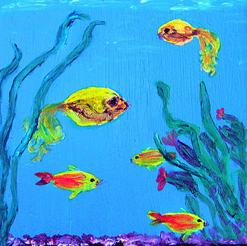 Aquarium Life by Laura Lawless
