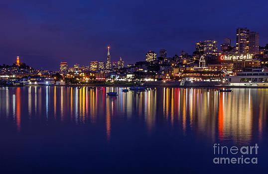 Kate Brown - Aquatic Park Blue Hour wide view