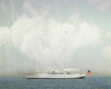 Arabella on Newport Harbor by Karen Lynch