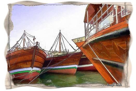 Arabian Boats by Digital Oil