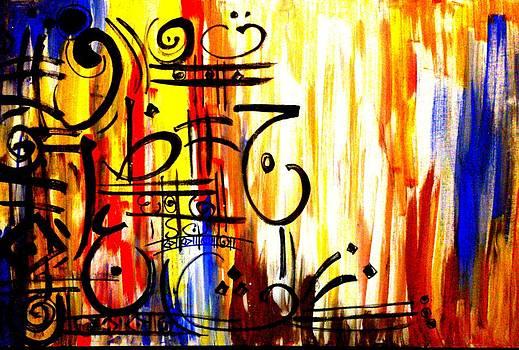 Arabic Calligraphy by Asm Ambia Biplob