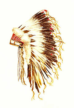 Arapaho War Bonnet by Michael Vigliotti