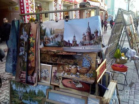Arbat Art Street 2 by Alisa Tek