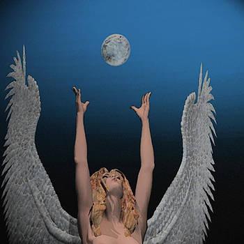 Archangel Haniel by Mark L Watson