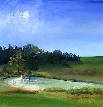 Archangel Haven Pond by Bonnie Fernandez