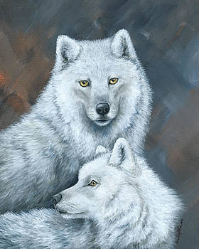 Arctic Soul Mates by Christine StPierre