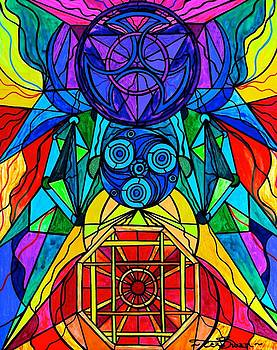 Arcturian Conjunction Grid by Teal Eye  Print Store