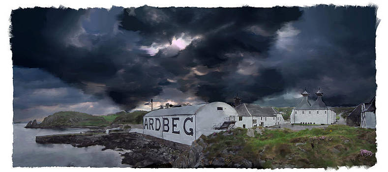 Ardbeg The Storm is coming by Ian Gray
