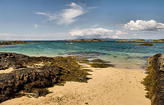 Arisaig Beach Scotland by Jacqi Elmslie