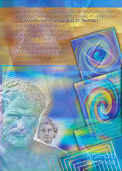 Nikos Smyrnios - Aristotle teaches Alexander the Great