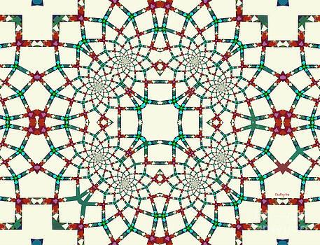 Arithmetical Lace  by Tatjana Popovska