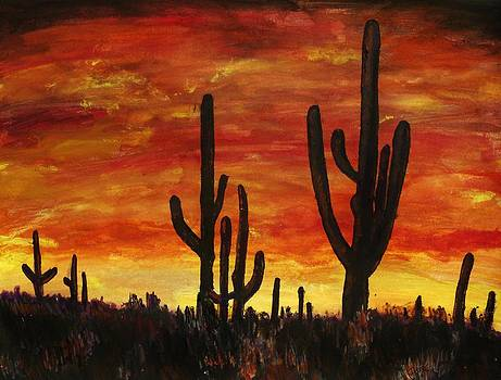 Jeremy Moore - Arizona Sunset